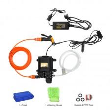 12V High Pressure Car Washer Portable Car Washer Machine Water Gun Pump Cleaner Car Care Package 7