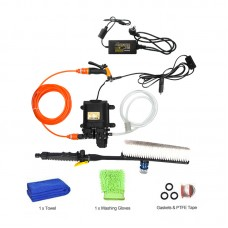 12V High Pressure Car Washer Portable Car Washer Machine Water Gun Pump Cleaner Car Care Package 8