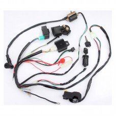 ATV Wiring Harness Kit QUAD Dune Buggy Wiring Harness for Little Bull ATV Xiaogaosai 110-125CC
