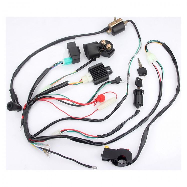 wiring harness kit for atv atv wiring harness kit quad dune buggy wiring harness for little  atv wiring harness kit quad dune buggy