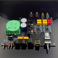 Headphone Amplifier Board Full Balanced Inputs & Outputs Finished Tested Version