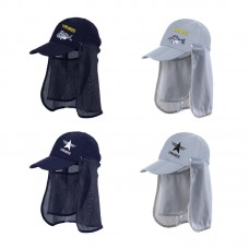 Sun Hat with Neck Flap for Men Mesh Amazing Ventilation UV Protection Fishing Outdoor Activities