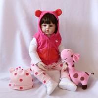 18''/46cm NPK Reborn Baby Dolls Silicone Handmade Soft Girl Toy Female Birthday Gift DH70311-18 S