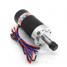 WS55-180 Advanced ER11 Spindle Brushless 400W 12000RPM + Brushless DC Motor Driver + Clamp Base