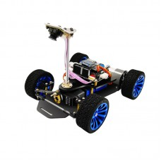 Smart 4WD RC Car Chassis Kit Dual Motors w/ Encoder Unfinished (MG996) without Controller Version