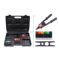 900pcs Nutset Tool Kit Rivnuts M3-M10 Stainless Steel Aluminum Steel Rivnuts & Rivet Nut Gun