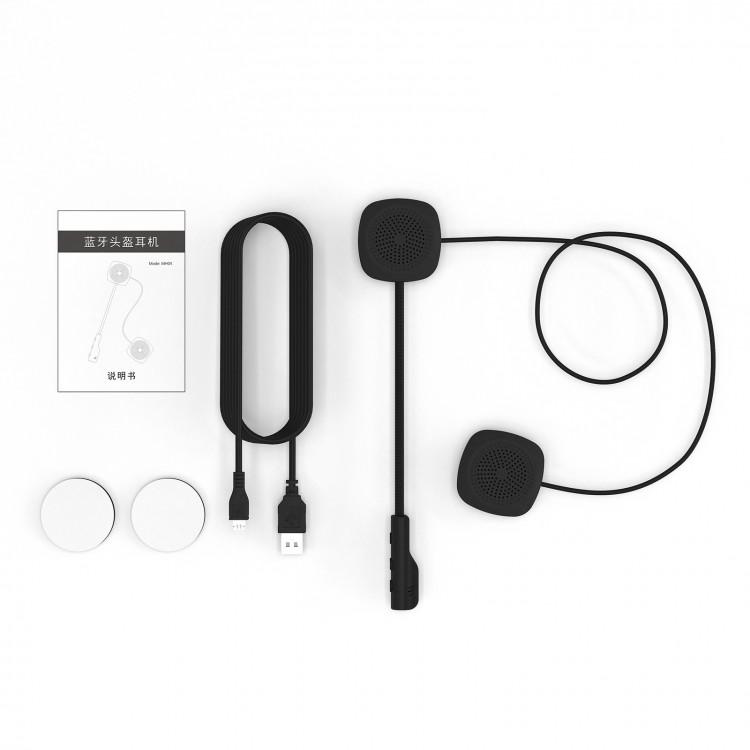Mh04 Bluetooth 5.0 Motorbike Motorcycle Helmet Intercom Headset Long Standby New