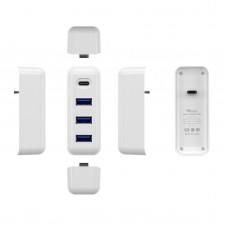 USB Type C Hub Adapter 61W Universal Laptop Docking Station Data Transmission PD Quick Charge TC05