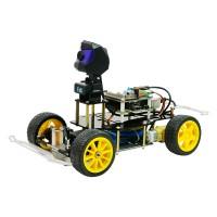 Smart Robot Car Kit Donkey Car Self Driving Car Kit w/ Camera WiFi Transmission XR-F1