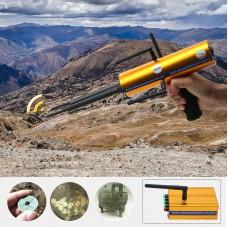 AKS Long Range Gold Metal Detector Gems Diamond Finder with Six Antennas Handheld Type