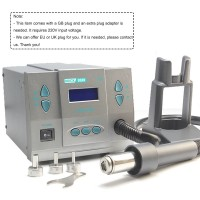 1300W SMD Soldering Rework Station Hot Air Rework Station LCD Screen for PCB Chip Repair Quick 861X