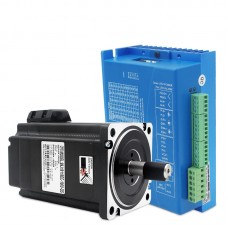 0-2000RPM 8.5NM 86 Closed Loop Stepper Motor Driver Kit Two-Phase with 2M Encoder Extended Cord