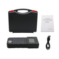 UM6500 Portable Handheld Digital Ultrasonic Thickness Gauge LCD Ultrasonic Tester Meter RISEPRO