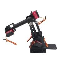Assembled 6DOF Robot Arm Clamp Set Educational DIY Robotic Kit With Large Torque Servo