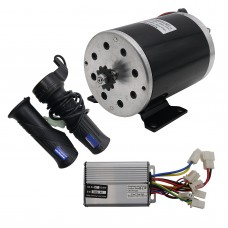 1000W 48V Electric Bike Motor Kit Electric Scooter Kit Motor + Speed Controller + Throttle Grips