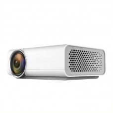 Mini LED Projector 1080P Full HD Built-in Speakers w/HDMI VGA AV USB TF Card Ports YG520