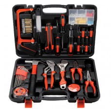 102pcs Tool Set Case Mechanics Kit Box Home Repair DIY Household Hand Tool Kit