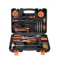 45 Pcs Home Repair Maintain DIY Car Household Hand Tool Kit Set Case Mechanics Box