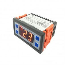 12V/24V/220V Digital Temperature Controller Thermostat Module w/Waterproof Sensor XD-W200