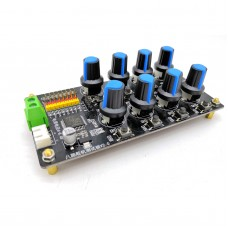 8-Channel Digital Servo Tester Servo Controller Board Over-Load Protection for Mechanical Arms