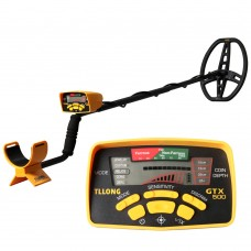 GTX500 Underground Metal Detector w/Small Waterproof Search Coil 28x22cm Five Detection Modes