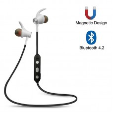 2pcs Magnetic Wireless Earbuds for Sports Sweatproof V4.2 Bluetooth Headphones w/Mic ZHY-13