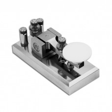 Z55CW CW Morse Key Brass Telegraph Key Plating Procedures for Morse Code Short-ware Radio