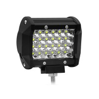 "1pc 4"" 72W Off-Road Roof Light LED Work Light Flood Beam for Truck SUV Boat Crane Forklift"