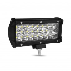 "1pc 7"" 72W Off-Road Roof Light LED Work Light Flood Light for Truck SUV Boat Crane Forklift"