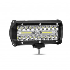 "1pc 7"" 120W Off-Road Roof Light LED Work Light Flood Light for Truck SUV Boat Crane Forklift"