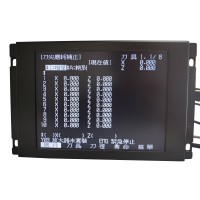 LCD Panel for Mitsubishi MDT962B-1A BM09DF MDT962B M64 E60 CNC CRT Monitor + Upgrading Button