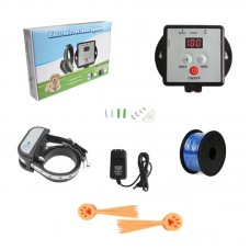 X-881B Underground Electric Dog Fence System Dog Training Shock Collar Waterproof for 1 Dog