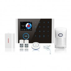 GSM Alarm Kit Home Alarm System Wifi+GSM+GPRS Home Security System Kit CS108 Package 1