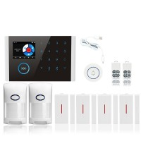 GSM Alarm Kit Home Alarm System Wifi+GSM+GPRS Home Security System Kit CS108 Package 2