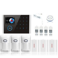 GSM Alarm Kit Home Alarm System Wifi+GSM+GPRS Home Security System Kit CS108 Package 3