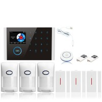 GSM Alarm Kit Home Alarm System Wifi+GSM+GPRS Home Security System Kit CS108 Package 4