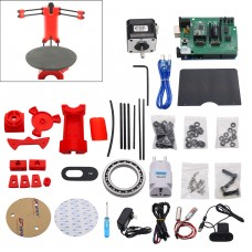 Open Source 3D DIY Laser Scanner Plate Kit w/Adapter Object For Ciclop Printer