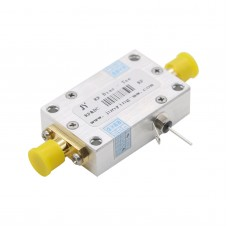 Coaxial Bias Tee 10MHz-6GHz 2A 50V Broadband Radio Frequency Microwave Coaxial Bias Tee