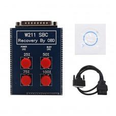 W211 SBC Tool W211/R230 ABS/SBC Tool For Mercedes Benz OBD2 SBC Reset (Repair Code C249F)