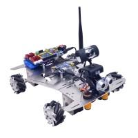 4WD WiFi Smart Robot Car Kit Camera 640*480 60mm Mecanum Wheels Unfinished WiFi + Bluetooth Version