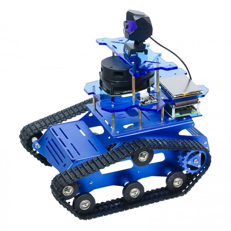 SLAM Laser Radar Smart Robot Car Kit Unfinished Standard