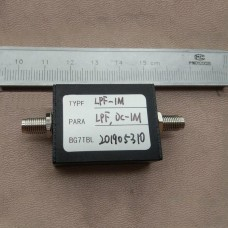 LPF-1M 1MHz LPF RF Low-Pass Filter w/SMA Female Connector 50Ω