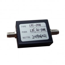 LPF-10M 10MHz LPF RF Low-Pass Filter w/SMA Female Connector 50Ω