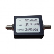 LPF-100M 100MHz LPF RF Low-Pass Filter w/SMA Female Connector 50Ω
