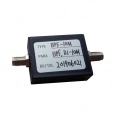 BPF-10M 10MHz BPF Band-Pass Filter SMA Female Connector 50Ω