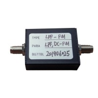 FM Band-Pass Filter FM BPF RF Band Pass Filter w/ SMA Female Connector 50Ω