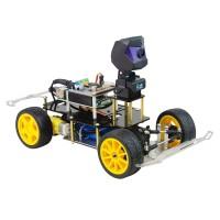 XR-F1 Donkey Car Smart Robot Car Kit AI Self Driving Car Kit w/ 720P HD Camera Unfinished