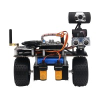STM32 2WD Self Balancing Robot Car 2-DOF PTZ for Android iOS PC Ultrasonic IR Sensor Version (WiFi)
