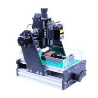 45W Desktop CNC Engraver Mini Laser Engraver Unfinished Working Area 33x21x6cm 2235 Standard Version