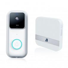 B60 Smart Video Wireless WiFi Doorbell Ring Video Doobell WiFi 2.4GHz SD/ Cloud Storage + Chime